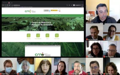 Coordinación del CRNJ para la puesta en marcha de la convocatoria de cursos 2021