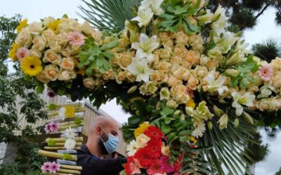 El CRN de Jardinería participa con su cruz en las Fiestas de Mayo
